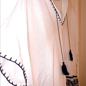 tory burch poncho/bathing suit cover up